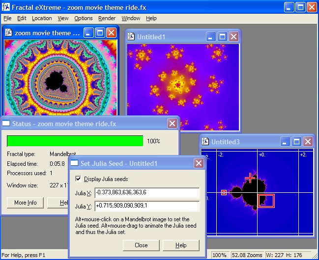 Fast, fun, easy to use, interactive fractal explorer for Windows